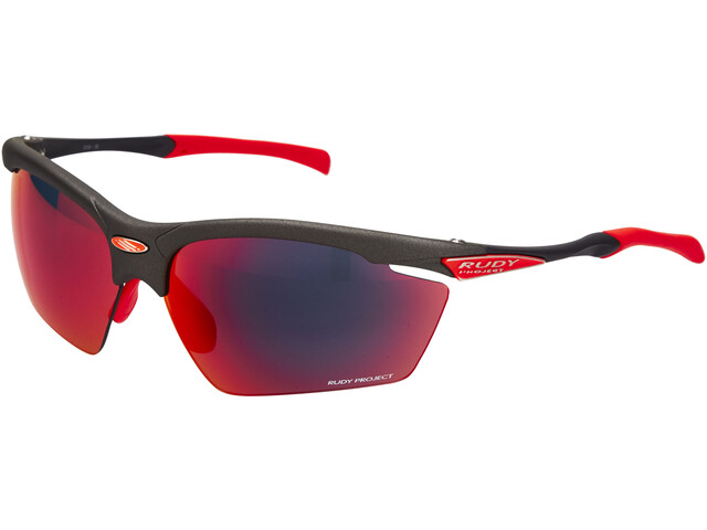 Rudy Project Agon Glasses graphite - rp optics multilaser red